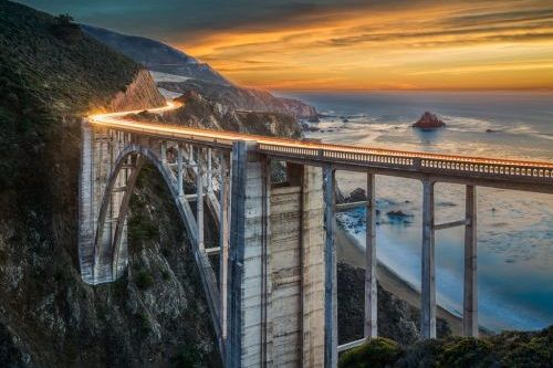 Foto Bixby Bridge