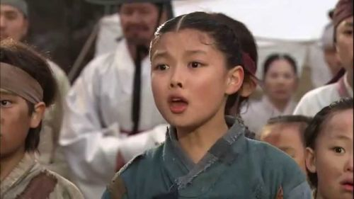 Kim Yoo Jung dalam Dong Yi