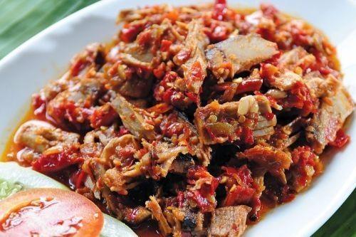 Kuliner Khas Manado Ikan Cakalang Fufu
