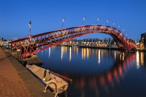 Foto Python Bridge, Amsterdam